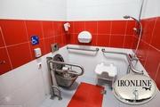 Поручни для инвалидов в санузлах и ванной комнаты